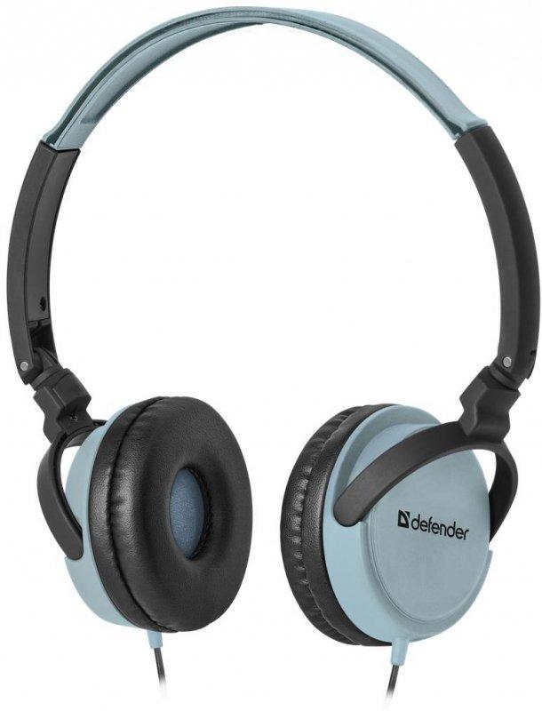 Słuchawki z mikrofonem Defender ACCORD 160 4-pin czarno-niebieskie