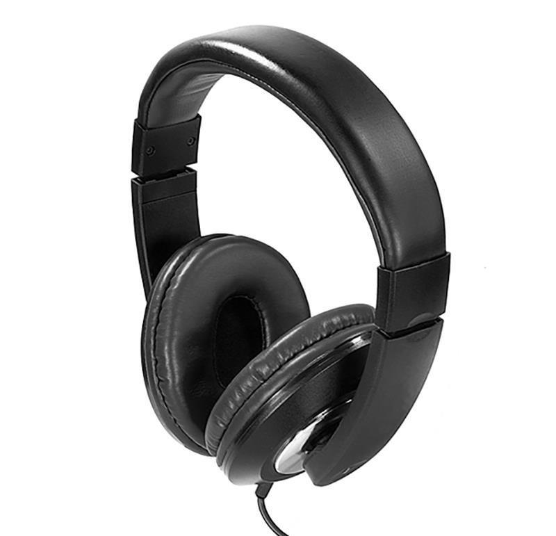 Słuchawki z mikrofonem e5 Voice czarne