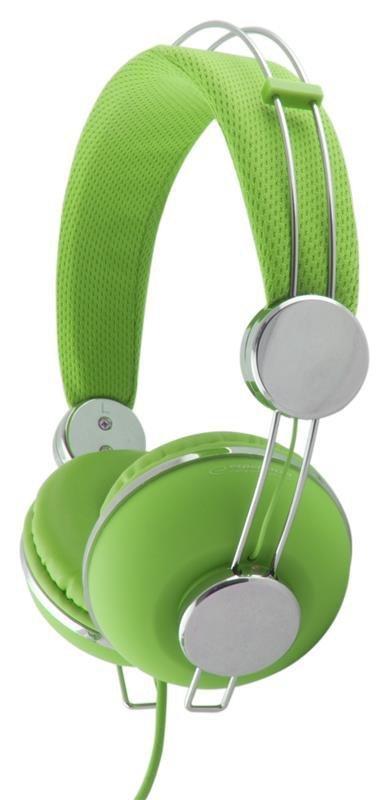 Słuchawki Esperanza EH149G zielone
