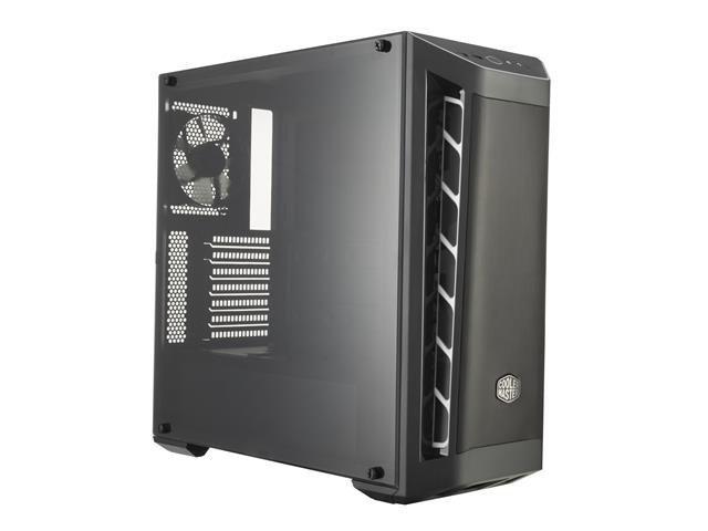 Obudowa Cooler Master MasterBox MB511 Midi Tower czarno-biała z oknem