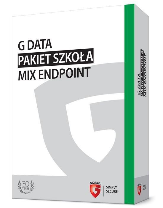 G DATA Pakiet Szkoła MIX Endpoint BOX do 100PC 1 ROK