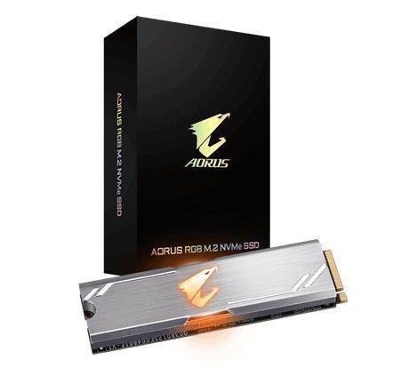 Dysk SSD Gigabyte AORUS SSD 512GB M.2 2280 PCI-Express 3.0 x4 (3480/2000 MB/s) 3D TLC