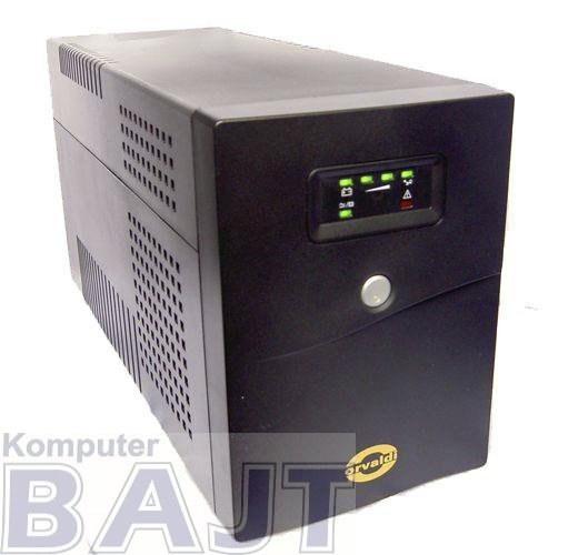 Zasilacz awaryjny UPS ORVALDI 2000 LED USB Line-Interactive