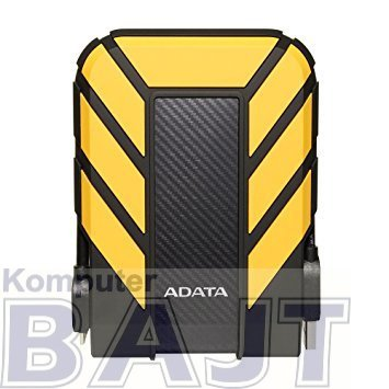 "Dysk zewnętrzny HDD ADATA HD710 AHD710P-1TU31-CYL (1 TB; 2.5""; USB 3.1; 8 MB; kolor żółty)"