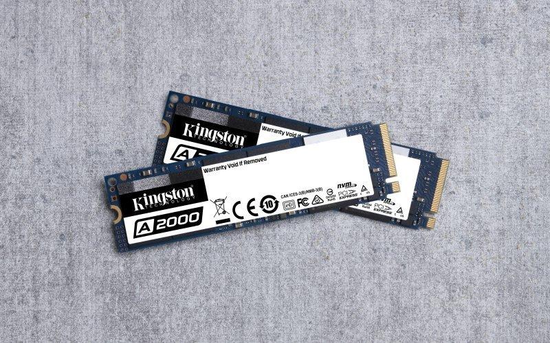 Dysk Kingston A2000 SA2000M8/500G (500 GB ; M.2; PCI Express 3.0 x 4)