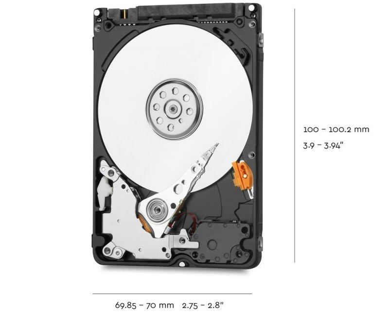 """Dysk HDD WD Blue WD20SPZX (2 TB ; 2.5""""; 128 MB; 5400 obr/min)"""