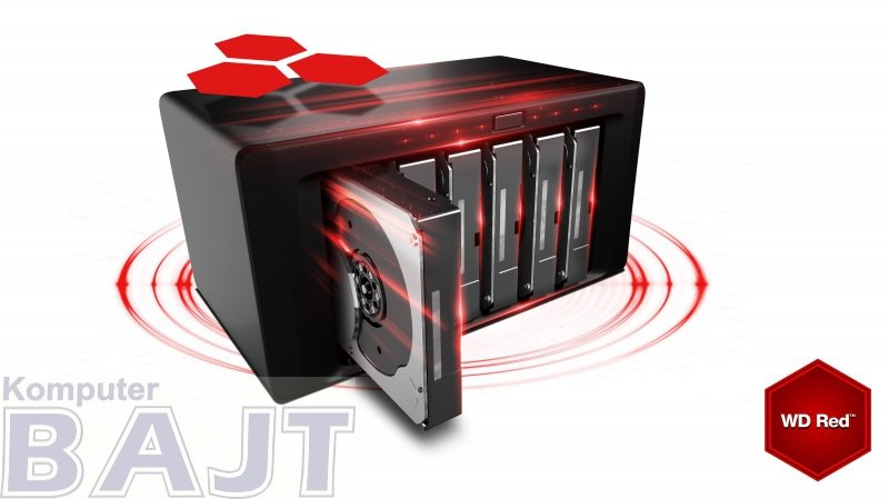 "Dysk HDD WD Red Plus WD80EFAX (8 TB ; 3.5""; 256 MB; 5400 obr/min)"