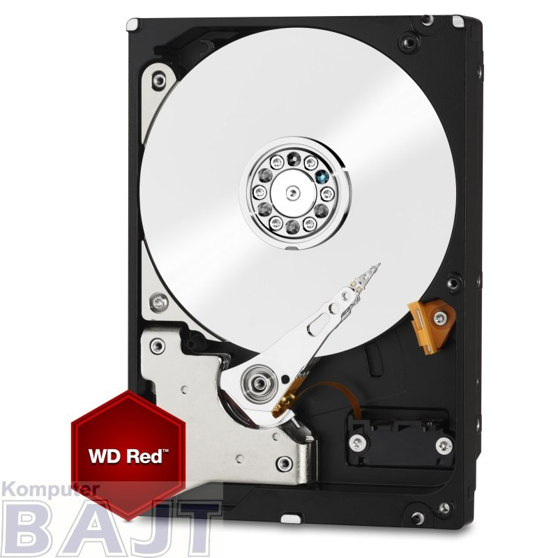 "Dysk HDD WD Red Plus WD40EFRX (4 TB ; 3.5""; 64 MB; 5400 obr/min)"