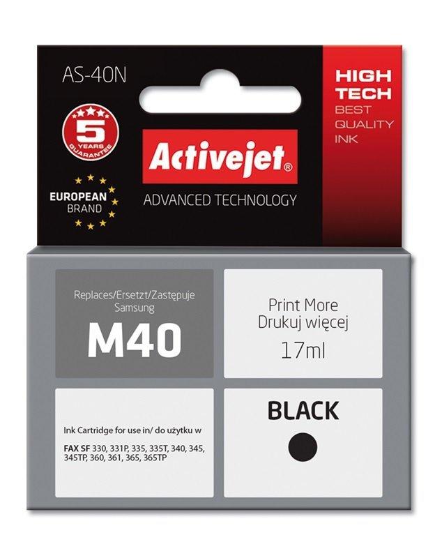 Tusz Activejet AS-40N (zamiennik Samsung M40; Supreme; 17 ml; czarny)