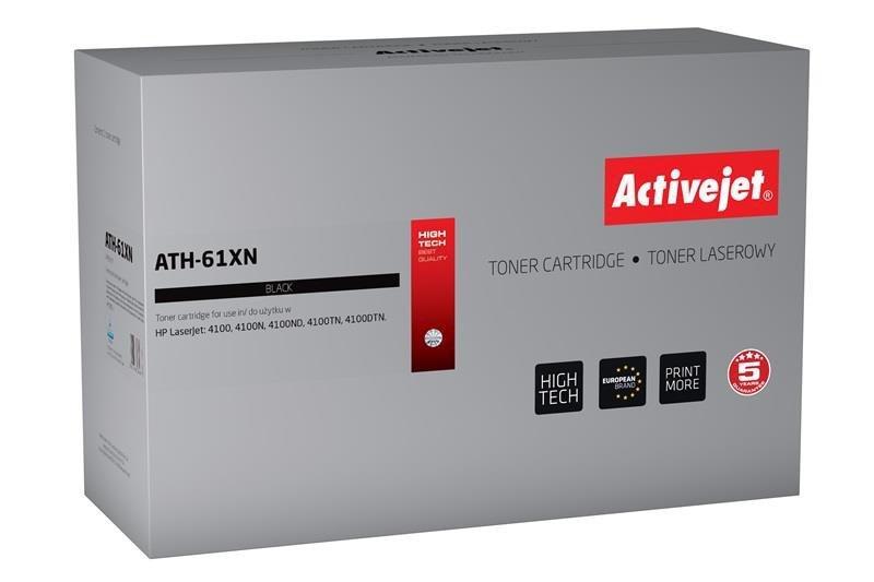 Toner Activejet ATH-61XN (zamiennik HP 61X C8061X; Premium; 10500 stron; czarny)