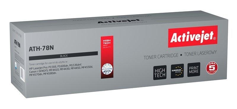 Toner Activejet ATH-78N (zamiennik HP 78A CE278A, Canon CRG-728; Supreme; 2500 stron; czarny)
