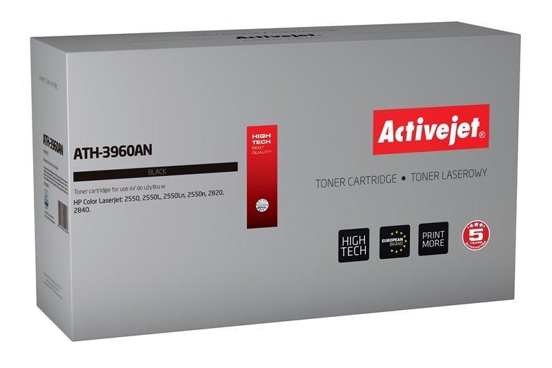 Toner Activejet ATH-3960AN (zamiennik HP 122A Q3960A, Canon CRG-701B; Premium; 5000 stron; czarny)