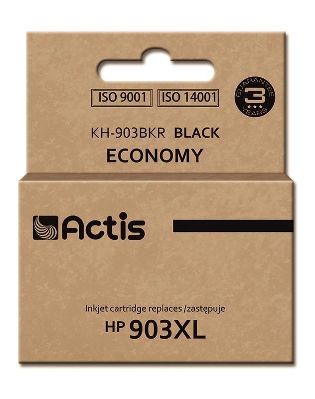 Tusz ACTIS KH-903BKR (zamiennik HP 903XL T6M15AE; Premium; 30 ml; czarny)