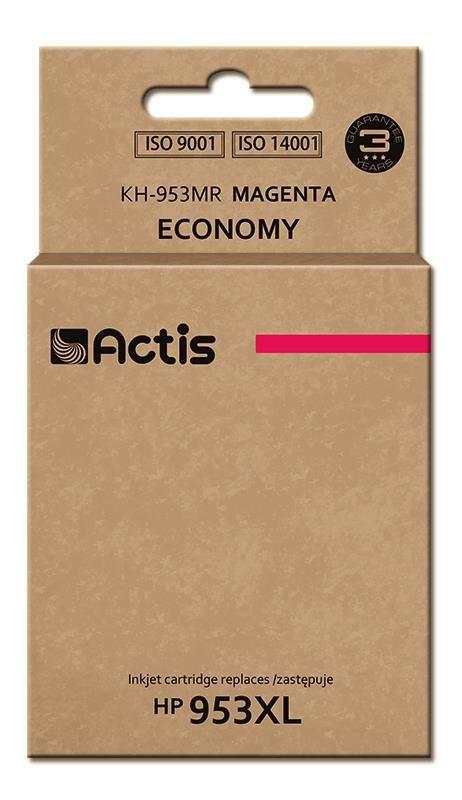 Tusz ACTIS KH-953MR (zamiennik HP 953XL F6U17AE; Premium; 25 ml; czerwony)