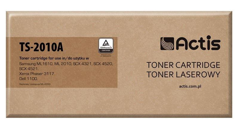 Toner ACTIS TS-2010A (zamiennik Samsung ML-1610D2/ML-2010D3; Standard; 3000 stron; czarny)