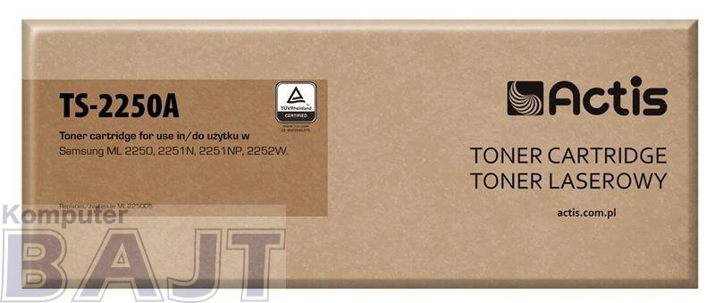 Toner ACTIS TS-2250A (zamiennik Samsung ML-2250D5; Standard; 5000 stron; czarny)