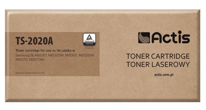 Toner ACTIS TS-2020A (zamiennik Samsung MLT-D111S; Supreme; 1000 stron; czarny)