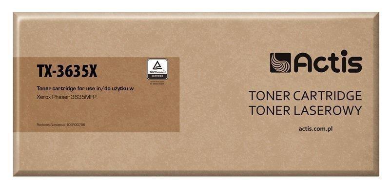 Toner ACTIS TX-3635X (zamiennik Xerox 108R00796; 10000 stron; czarny)