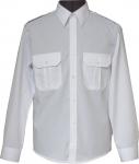 koszula mundurowa długi rękaw biała