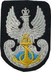 orzeł haftowany Marynarki Wojennej