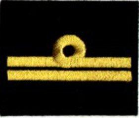 oznaka stopnia do kurtki lub swetra MW podporucznik