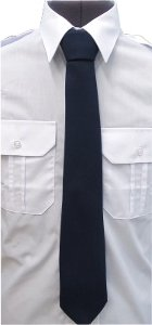krawat mundurowy, tie to the uniform