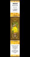 Paczka etykiet z banderolą na miód nawłociowy (100szt)_banderola
