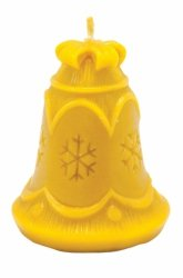 Forma silikonowa - Dzwonek ze śnieżynką