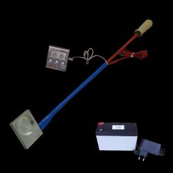 Parownik (sublimator) kwasu szczawiowego z termometrem + akumulator żelowy z ładowarką