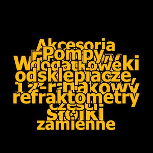 Pompy, odsklepiacze, refraktometry