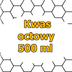 Kwas octowy - 1 litr