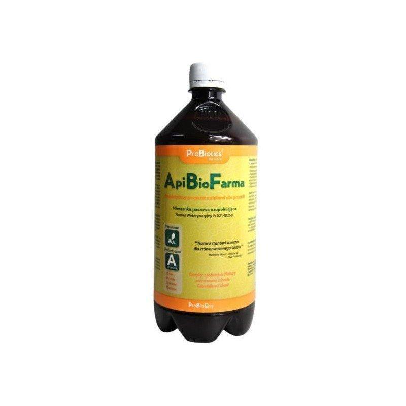 ApiBioFarma – preparat z ziołami dla pszczół – 1000ml | Sklep Pszczelarski | Apitec