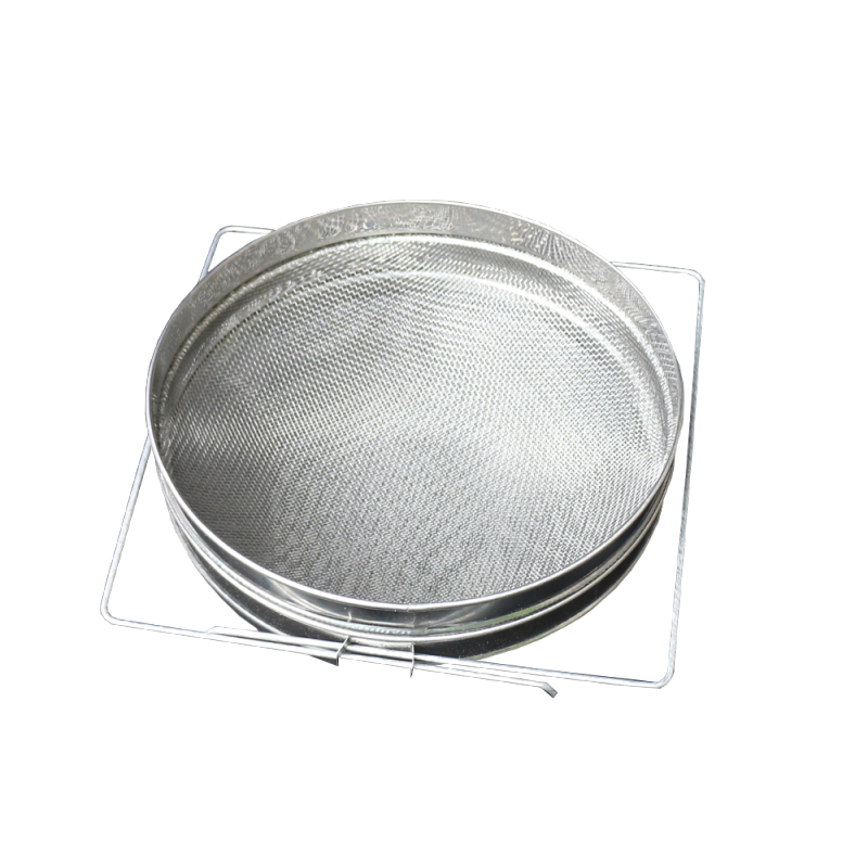 Duże sito do miodu podwójne - 300 mm (nierdzewne)