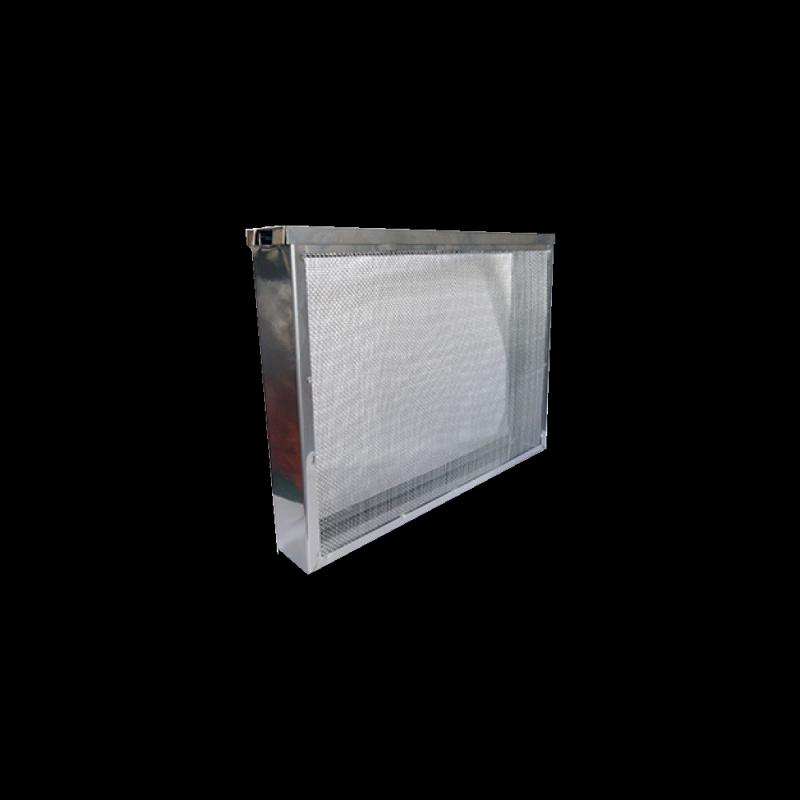 Izolator 1 ramkowy Dadant osiatkowany z pokrywą