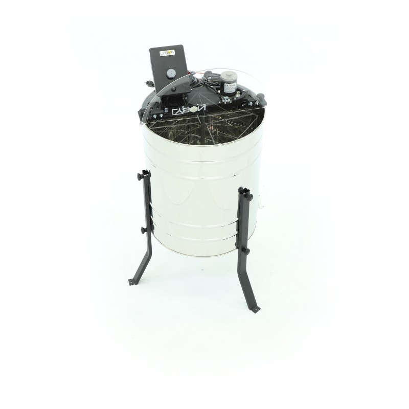 Miodarka diagonalna 4-ramkowa, D600 mm, elektryczna, BASIC