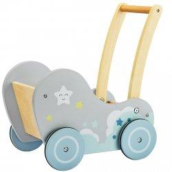 Dobranocka - drewniany wózek chodzik pchacz - przedsprzedaż