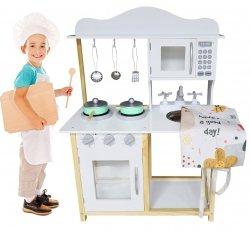 Drewniana Kuchnia MINI-MAXI dla dzieci + Akcesoria - przedsprzedaż