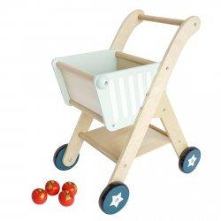 Drewniany Wózek Superbohatera - chodzik pchacz - przedsprzedaż