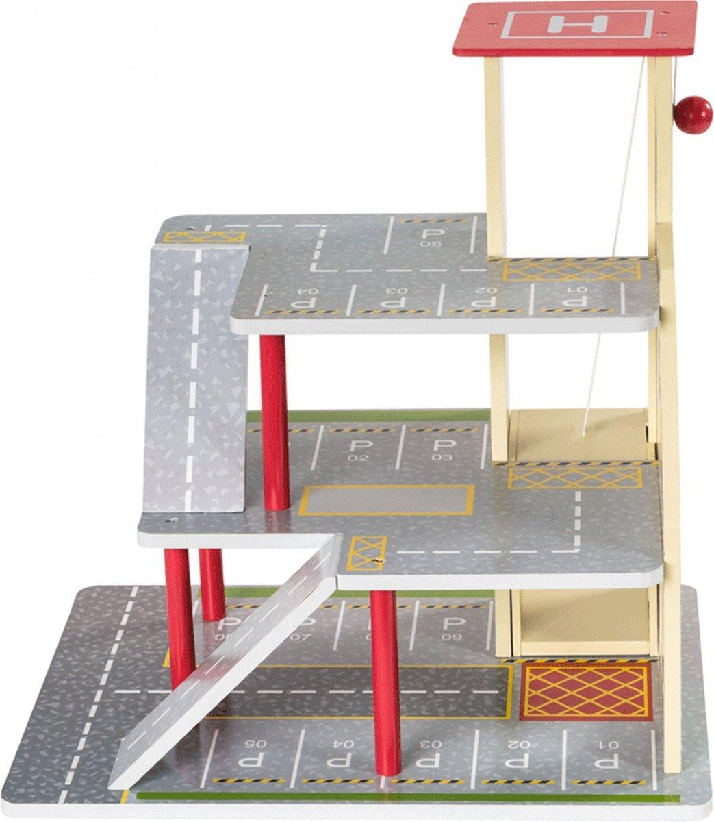 Drewniany parking 3 poziomy Z11