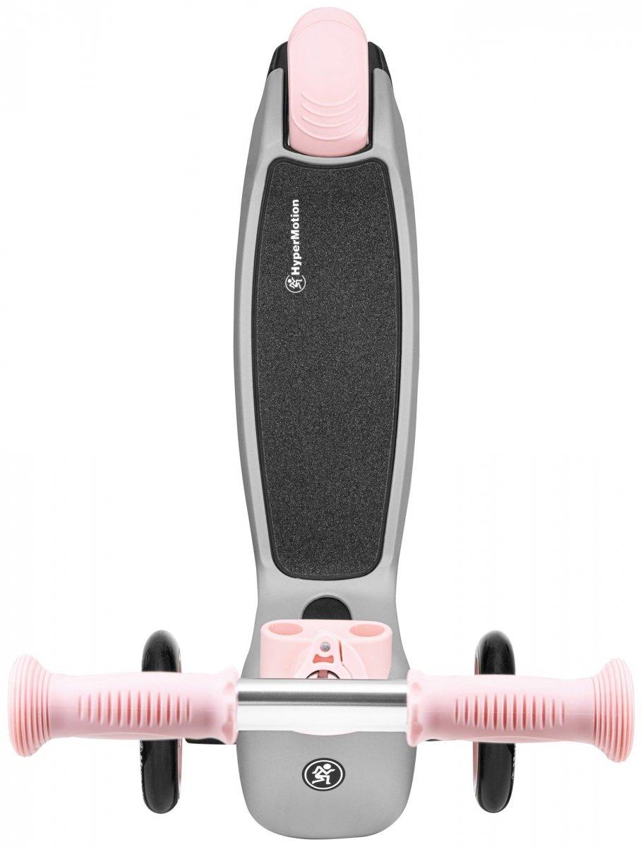 Hulajnoga 3in1 trójkołowa balansowa HyperMotion - rożowa
