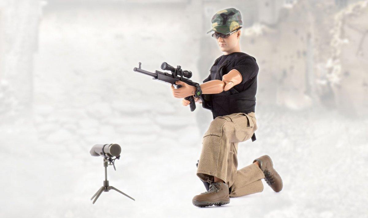 Figurka wojskowa 90200K - skala 1:6
