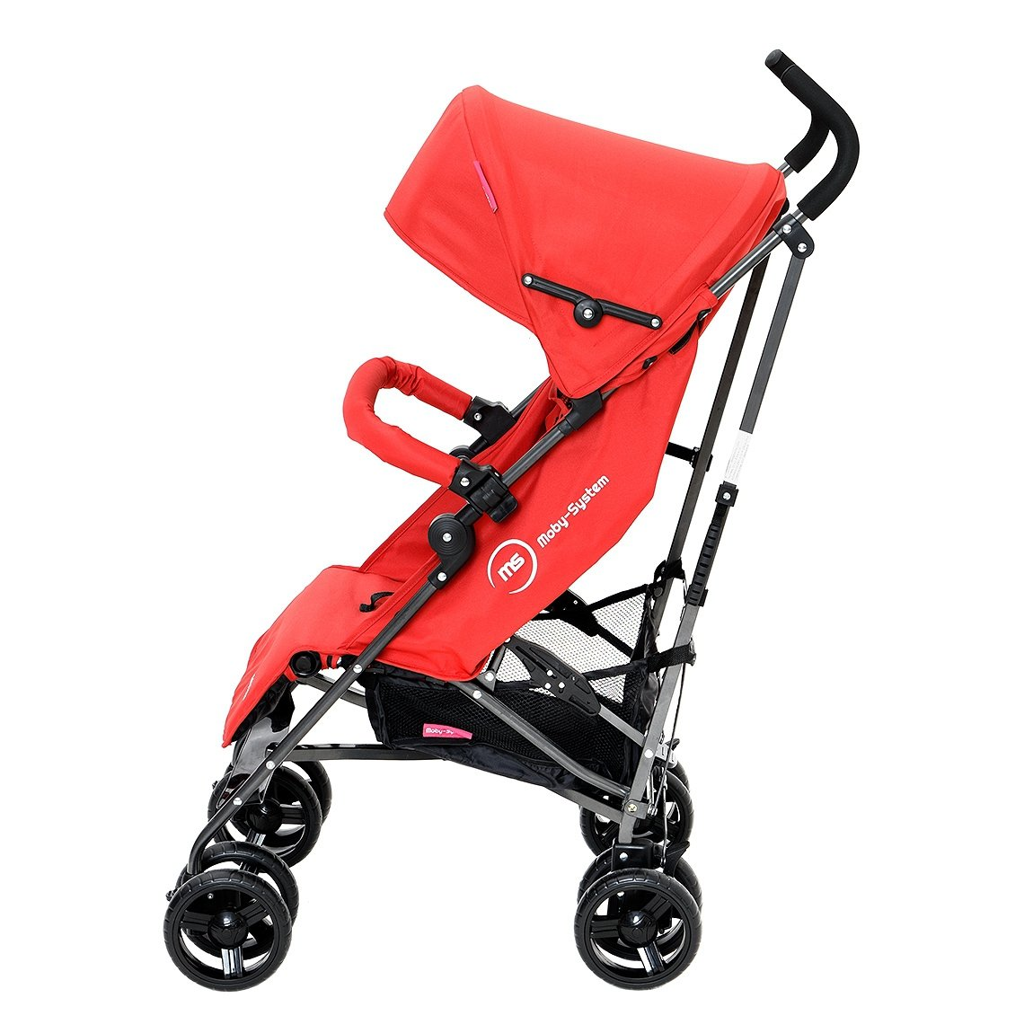 Wózek spacerowy Almond Czerwony