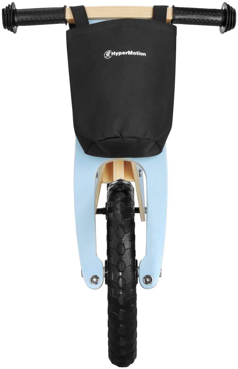 Rowerek biegowy drewniany HyperMotion LEXI - piankowe koła, superlekki - błękitny