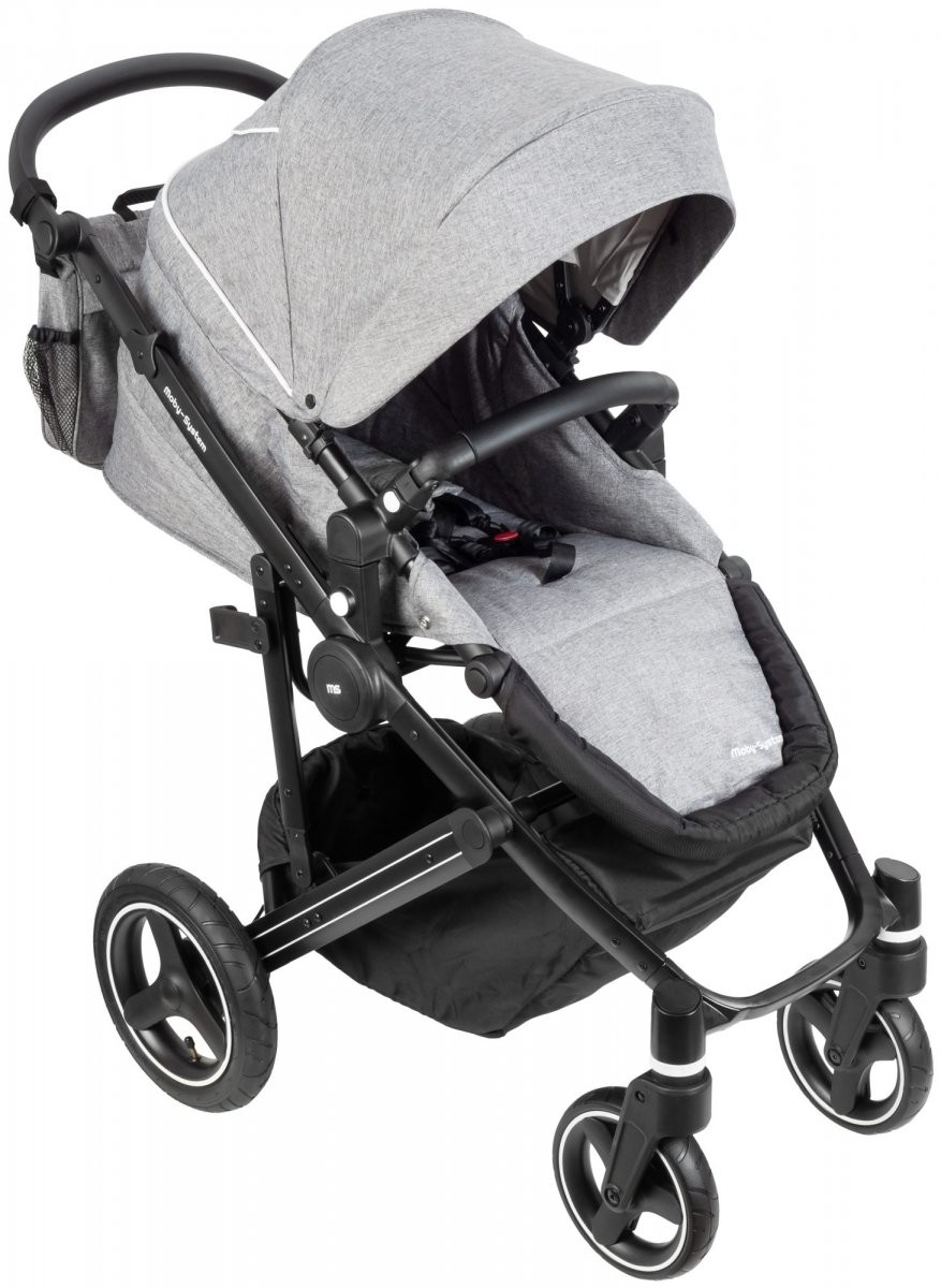 Wózek dziecięcy 2w1 Gondola + Spacerówka 0m+ Moby-System CANADIAN