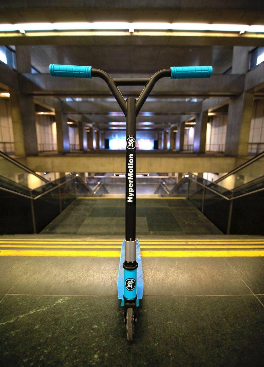 Hulajnoga wyczynowa HyperMotion EVO STUNT - niebieska