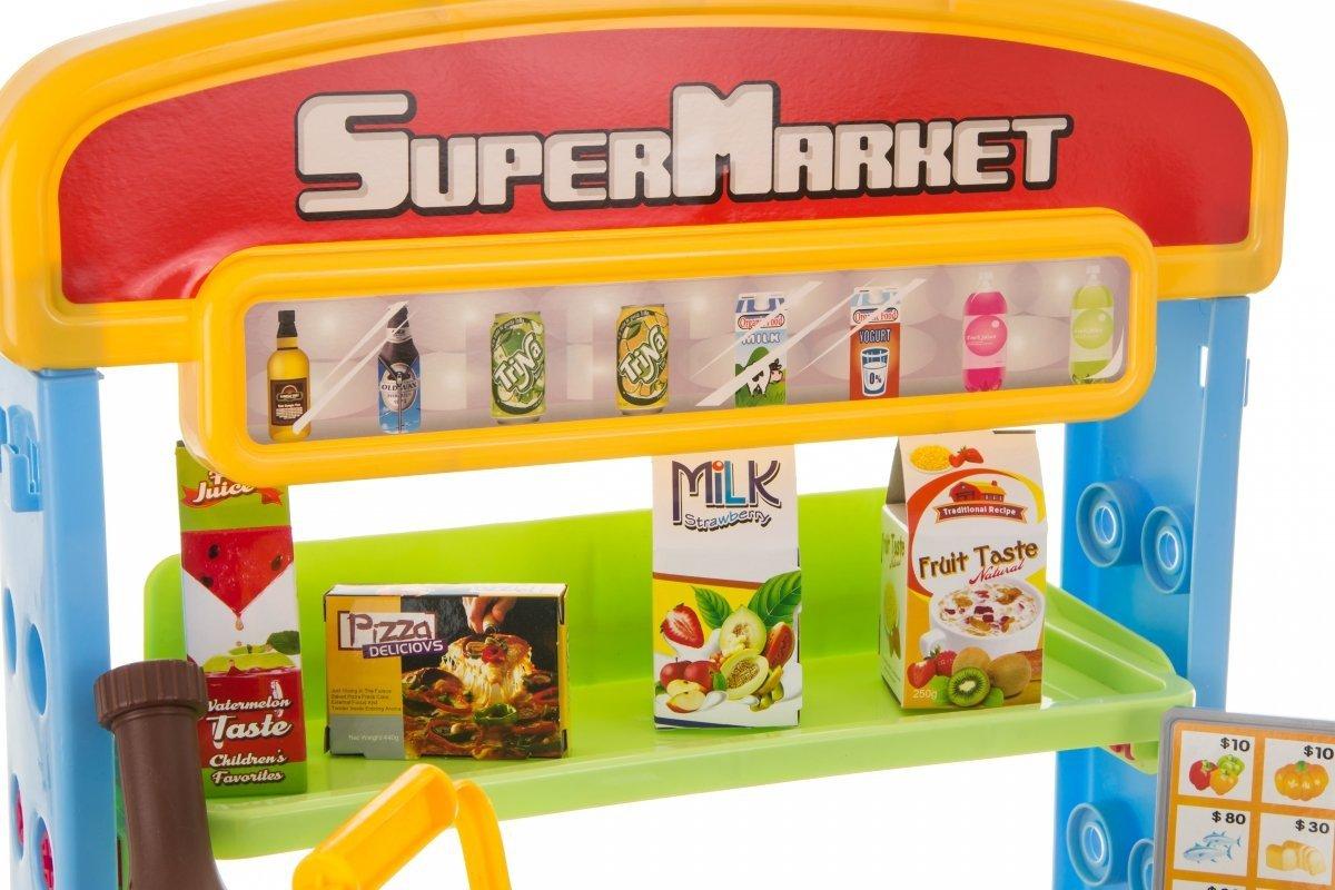 Zestaw Supermarket - sklep z kasą
