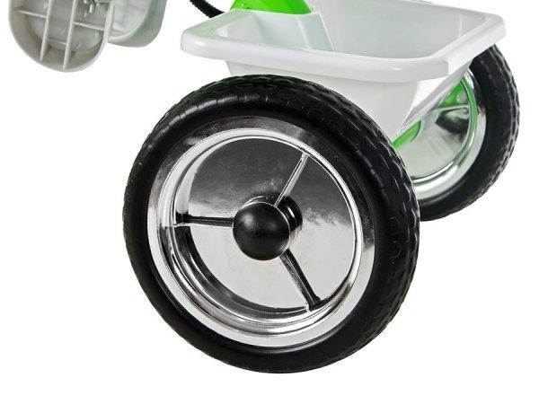 Rowerek Trójkołowy z pchaczem TOBI BASIC PLUS - Niebieski