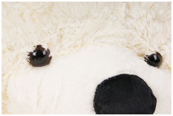 Miś pluszowy GIGANT 160 cm - kremowy