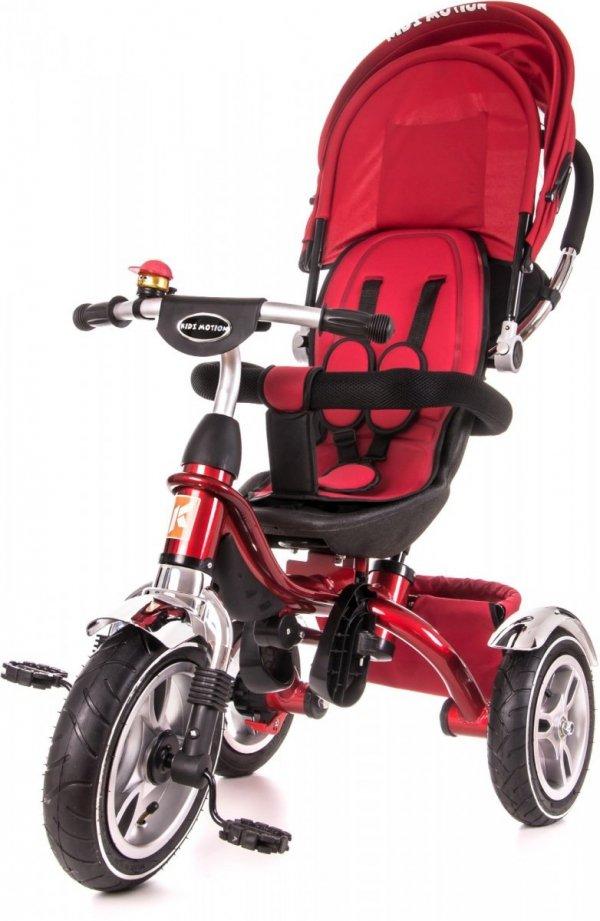 Rowerek trójkołowy Tobi Pro czerwony