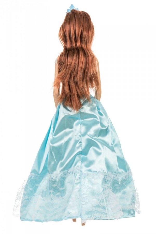Lalka Anlily - Zimowa Księżniczka - suknia błękitna